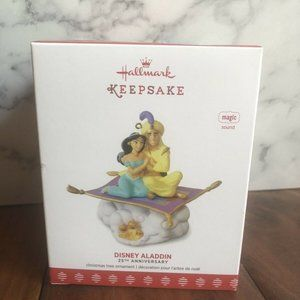 HALLMARK DISNEY ALADDIN AND JASMINE 25TH ANNIVERSA